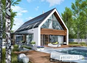 Projekt domu EX 19 G2 ENERGO PLUS - animacja projektu
