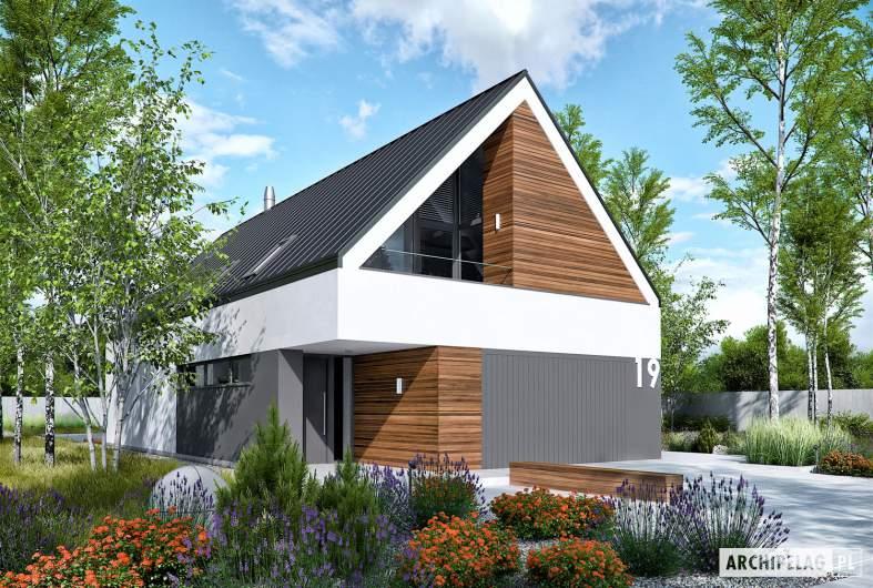 Projekt domu EX 19 G2 ENERGO PLUS - wizualizacja frontowa