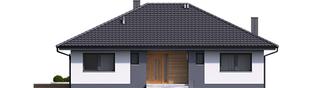 Projekt domu Mini 4 - elewacja frontowa