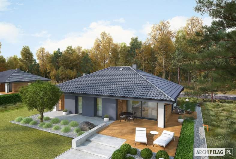 Projekt domu Mini 4 - widok z góry