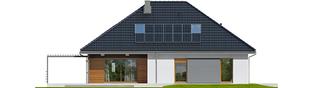 Projekt domu Astrid II G2 - elewacja tylna