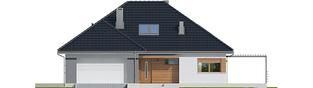 Projekt domu Astrid II G2 - elewacja frontowa