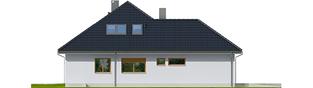 Projekt domu Astrid II G2 - elewacja lewa