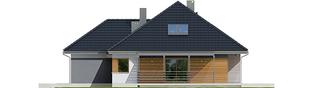 Projekt domu Astrid II G2 - elewacja prawa