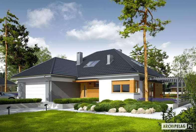 Projekt domu Astrid  II G2 - wizualizacja frontowa