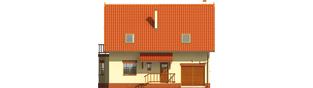 Projekt domu Aga G1 - elewacja frontowa