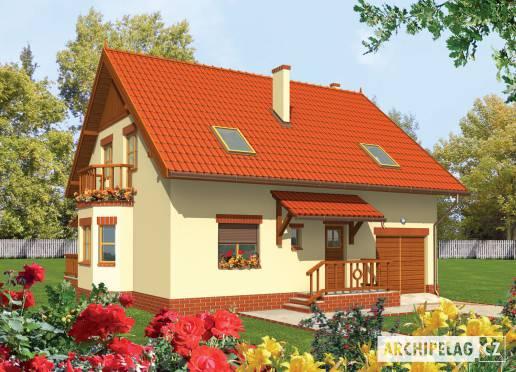 Projekt rodinného domu - Aga