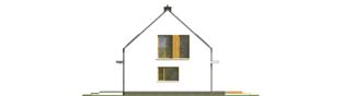 Projekt domu E12 ENERGO PLUS - elewacja prawa