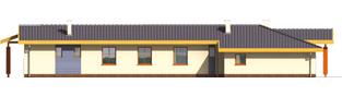 Projekt domu Sabina G2 - elewacja lewa