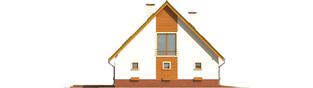 Projekt domu Kika G2 - elewacja lewa