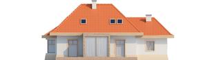 Projekt domu Celesta G1 - elewacja tylna