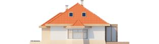 Projekt domu Celesta G1 - elewacja prawa