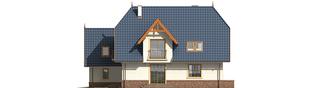 Projekt domu Oksana G2 - elewacja prawa