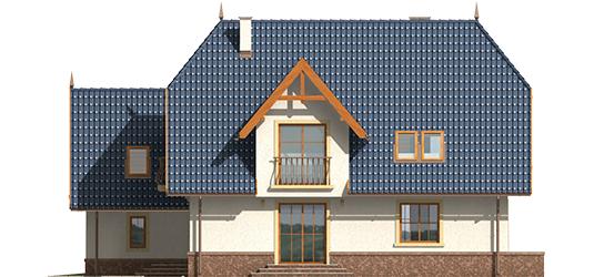 Oksana G2 - Projekt domu Oksana G2 - elewacja prawa