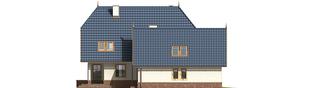 Projekt domu Oksana G2 - elewacja lewa