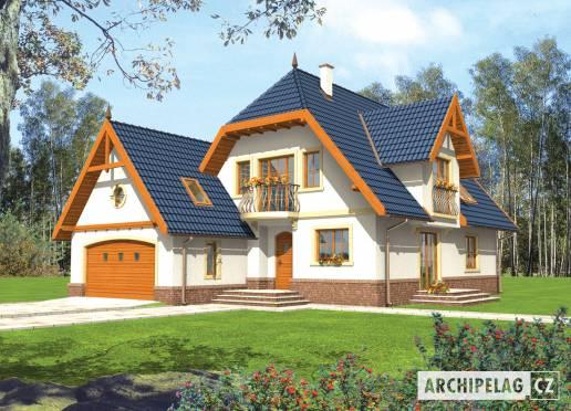 Projekt rodinného domu - Oksana