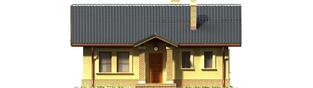 Projekt domu Bogna II - elewacja frontowa