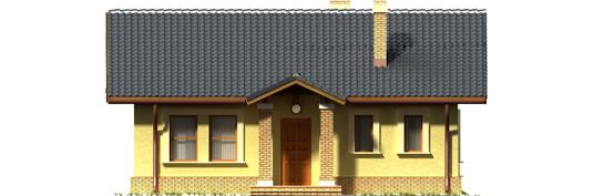 Bogna II - Projekt domu Bogna II - elewacja frontowa