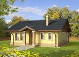 Projekt rodinného domu: Bohdana (v. II)