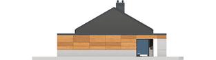 Projekt domu Edwin II G1 ENERGO - elewacja prawa