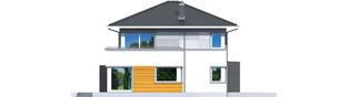 Projekt domu Rodrigo II G1 - elewacja lewa