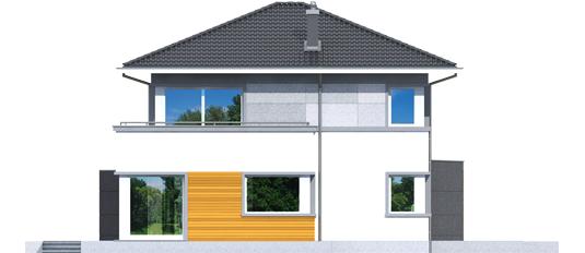 Родриго Г1 - Projekt domu Rodrigo II G1 - elewacja lewa