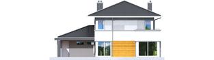 Projekt domu Rodrigo II G1 - elewacja tylna