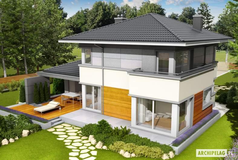 Projekt domu Rodrigo II G1 - widok z góry