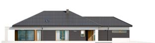 Projekt domu Alison III G2 ENERGO PLUS - elewacja lewa