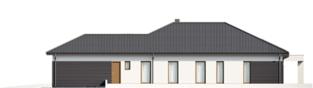 Projekt domu Alison III G2 ENERGO PLUS - elewacja prawa