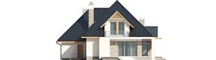 Projekt domu Amira G1 - elewacja tylna