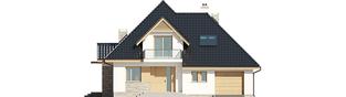 Projekt domu Amira G1 - elewacja frontowa