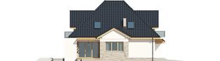Projekt domu Amira G1 - elewacja lewa