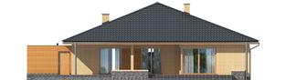 Projekt domu Antonio G1 - elewacja tylna