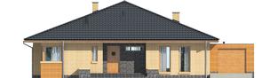 Projekt domu Antonio G1 - elewacja frontowa