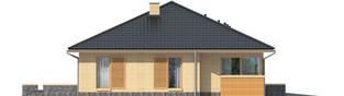 Projekt domu Antonio G1 - elewacja lewa