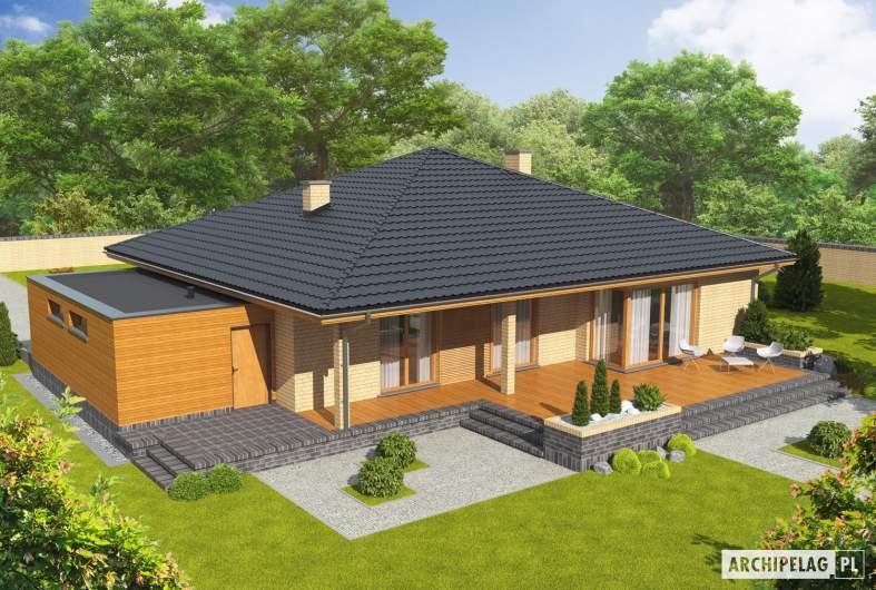 Projekt domu Antonio G1 - widok z góry