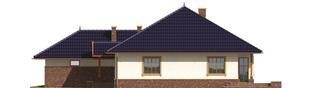 Projekt domu Lote G2 - elewacja prawa