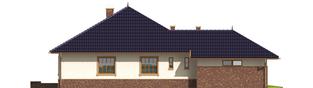Projekt domu Lote G2 - elewacja lewa