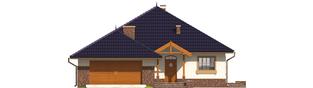 Projekt domu Lote G2 - elewacja frontowa