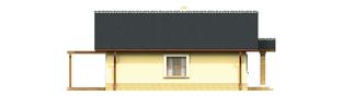Projekt domu Bogna III - elewacja lewa