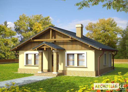 Projekt rodinného domu - Bohdana (v. I)