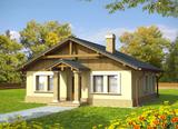 Projekt rodinného domu: Bohdana (v. I)
