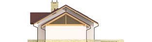 Projekt domu Kornel III G1 ENERGO - elewacja prawa