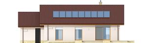 Projekt domu Kornel III G1 ENERGO - elewacja tylna