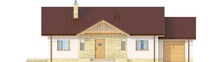 Projekt domu Kornel III G1 ENERGO - elewacja frontowa