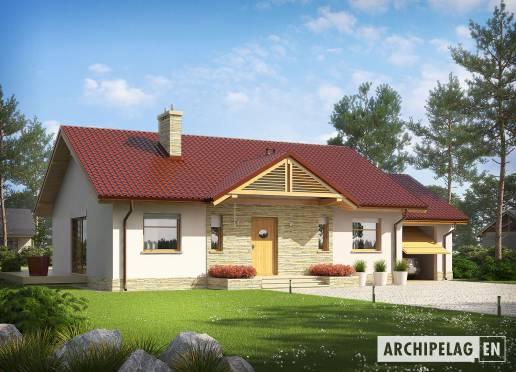 House plan - Kornel III G1 ENERGO