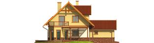 Projekt domu Mila G1 - elewacja lewa