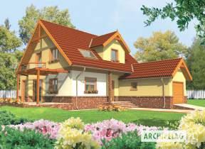 Projekt domu Mila G1 - animacja projektu