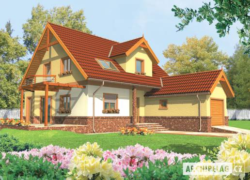 Projekt rodinného domu - Míla